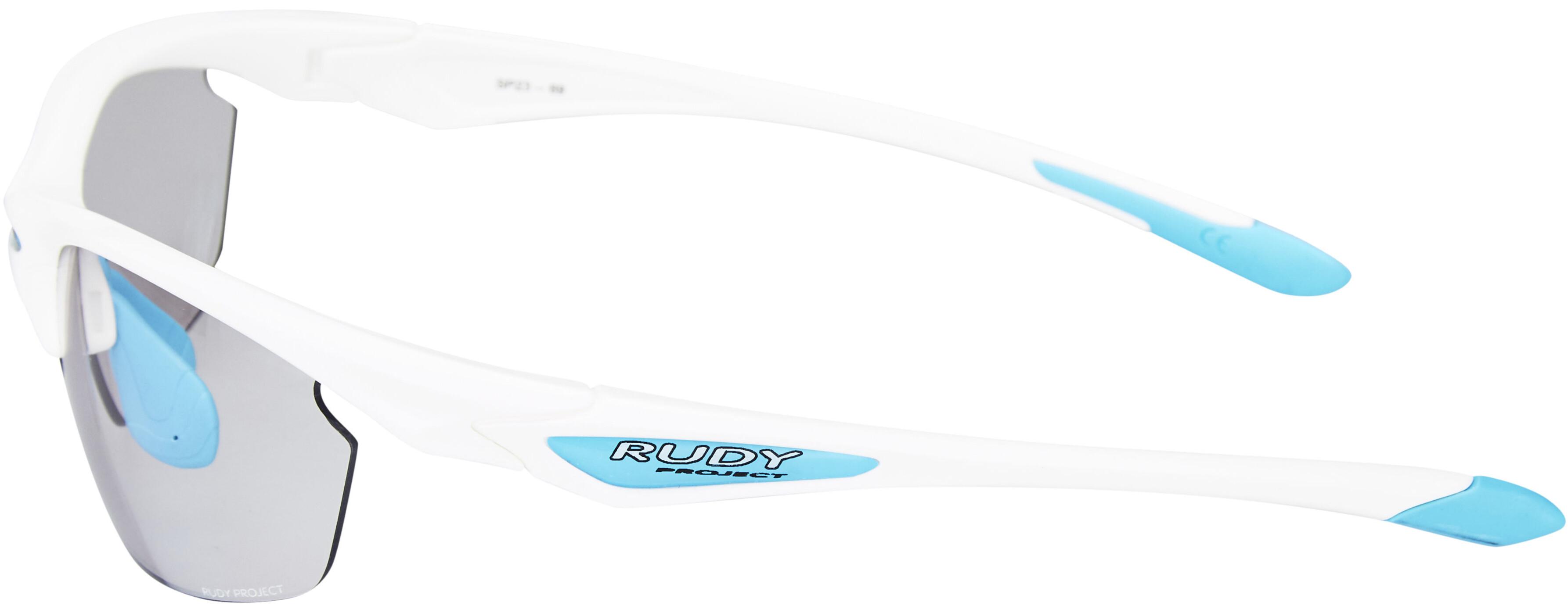 a695092edb480a Rudy Project Stratofly SX - Lunettes cyclisme - White Gloss Photoclear blanc
